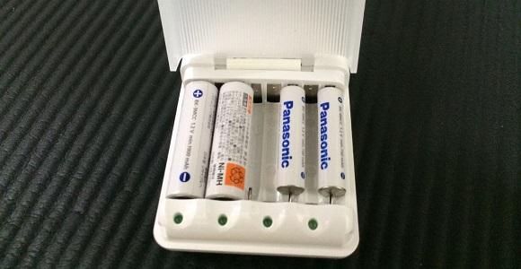 急速充電と単3充電池、単4充電池