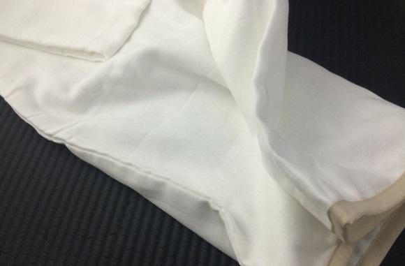 ガーゼの枕カバーの見た目