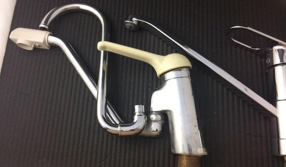 水栓パイプの蛇口の高さの比較