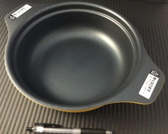 卓上IH(IHK-T32)とセットの鍋の見た目